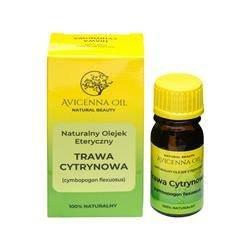 Naturalny olejek eteryczny: TRAWA CYTRYNOWA LEMONGRASOWY