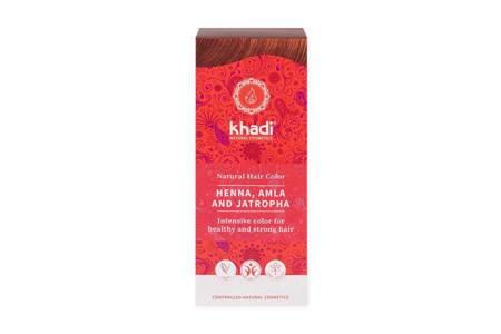 Henna Khadi Naturalna z Amlą i Jatrophą