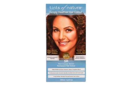 Naturalna farba do włosów Tints of Nature - 5R Miedziany brąz