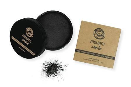 Proszek wybielający do zębów z aktywnym węglem Mohani Smile