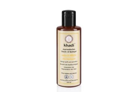 Żel pod prysznic i do kąpieli Khadi - amla i kwiat pomarańczy